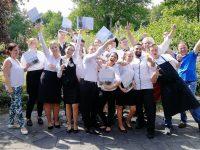 Prüfungsmenü in der Konrad-Adenauer-Schule