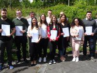 10 neue IHK geprüfte Consulting Assistants an der Konrad-Adenauer-Schule in Kriftel