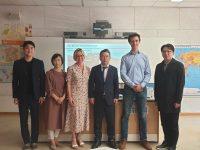 Besuch einer südkoreanischen Delegation